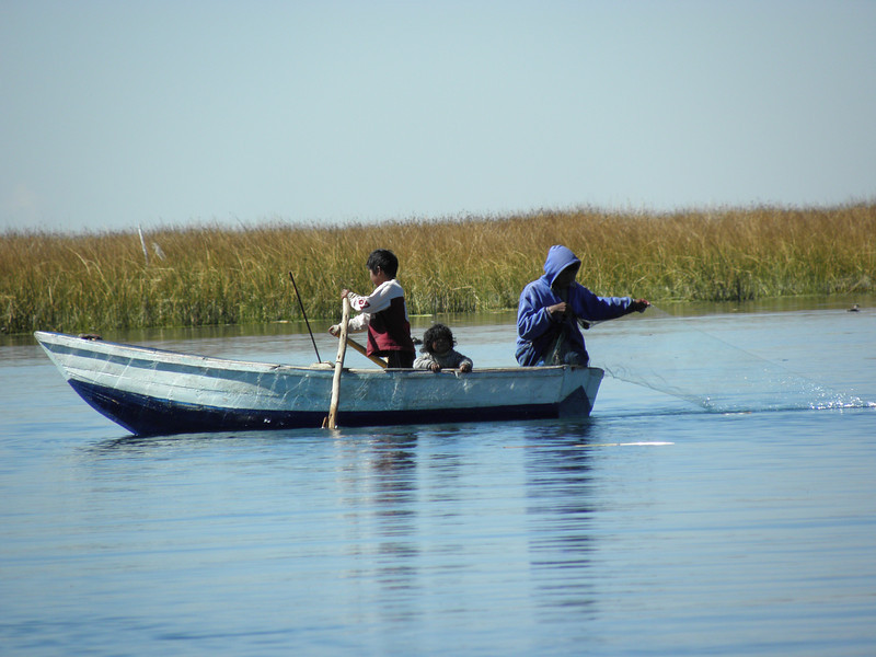 Pescado, base principal de la dieta local