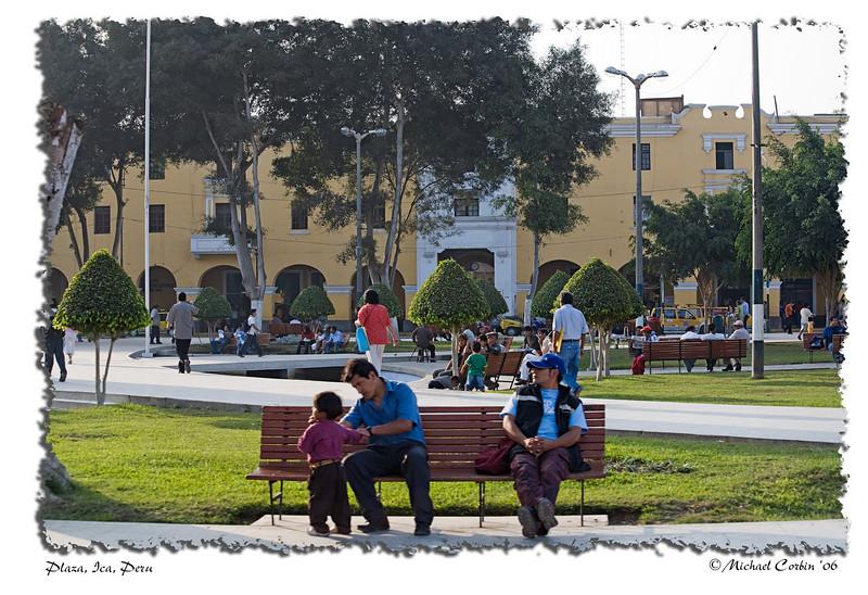 Plaza, Ica, Peru