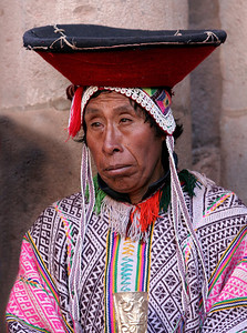 Mayor of Pisac, Peru