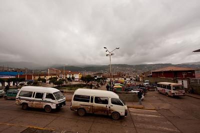 cusco view from Belen church