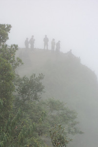 MP people in fog