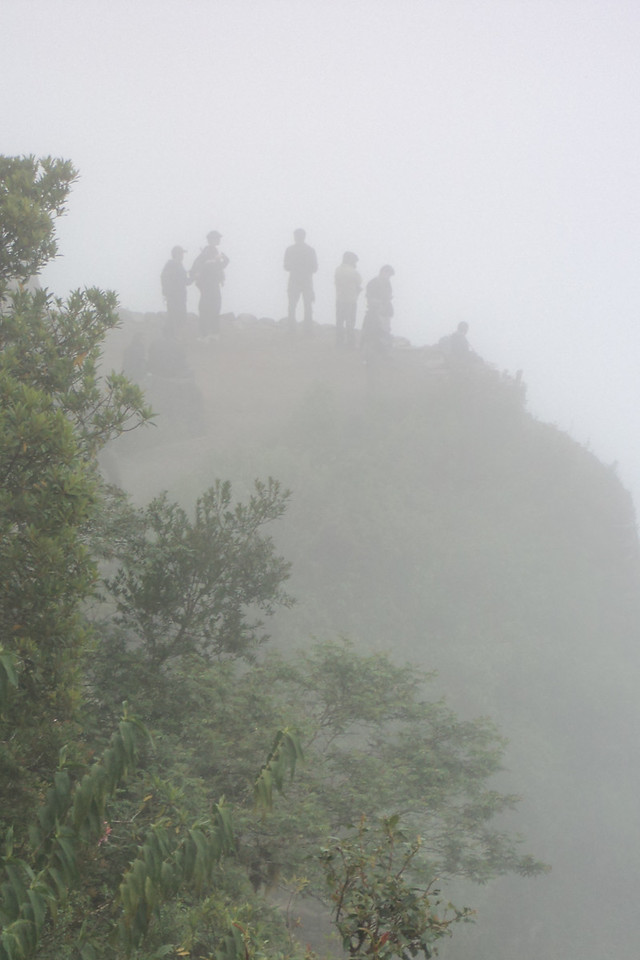 MP people in fog