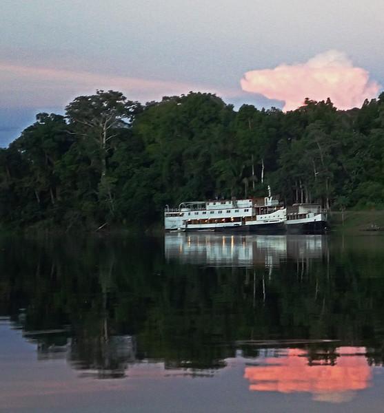 Rio Amazon on the Samiria river at PV2