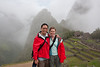 The mountain in the background is Wayna Picchu.
