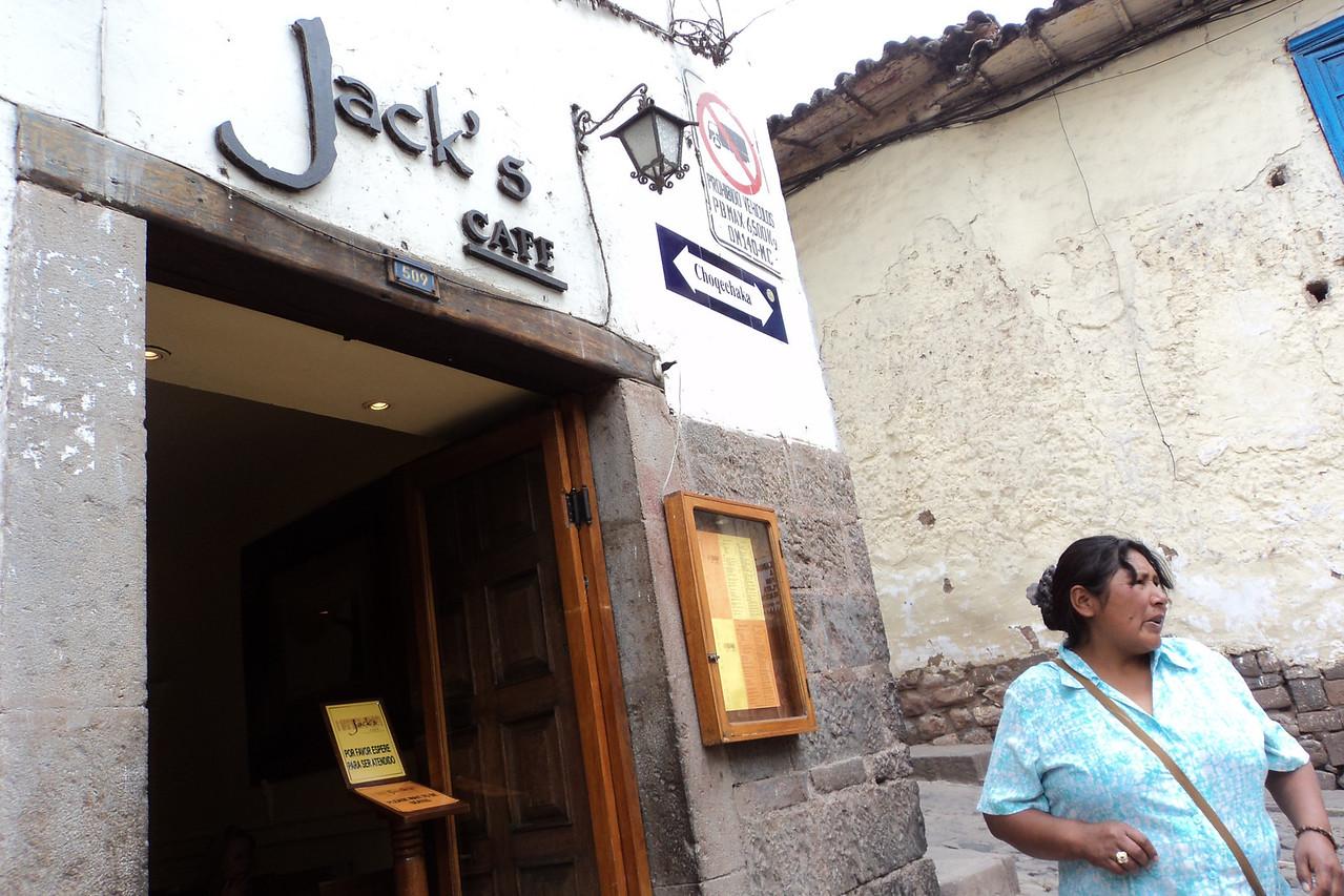 cusco jack's restaurant exterior