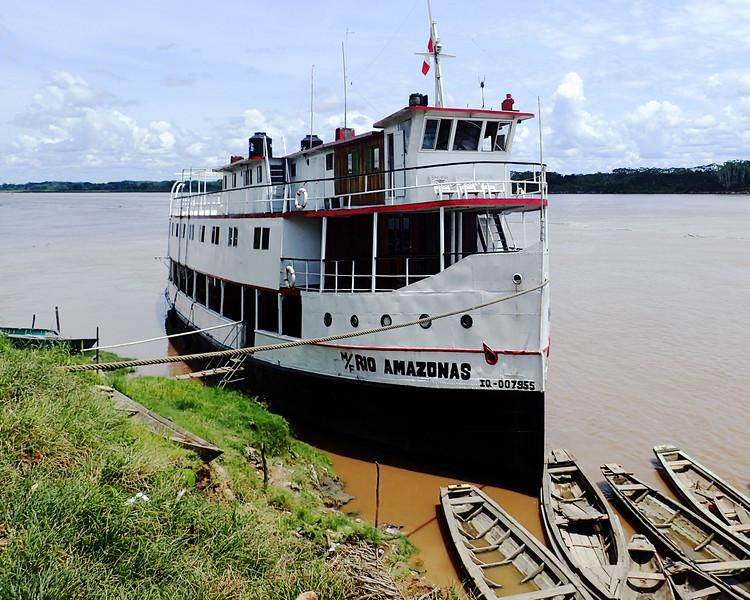 Rio Amazonas at Nauta