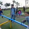 miraflores boardwalk, lima