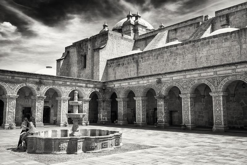 Santa Catalina Monestary; Arequipa, Peru