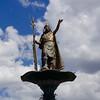 Cusco Inca Pachacuti Statue