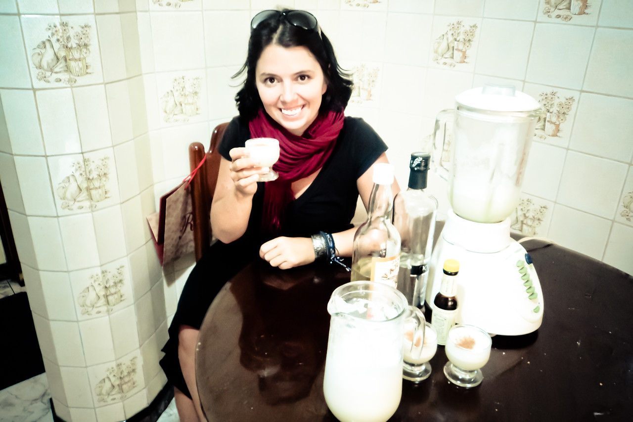 me with pisco sour