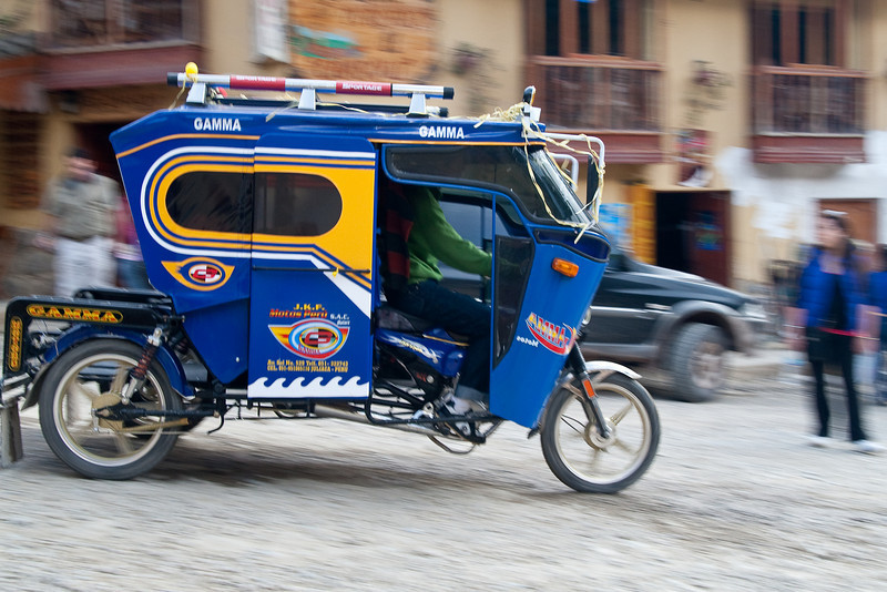 Kind of like the Tuk-Tuks we saw in Thailand.
