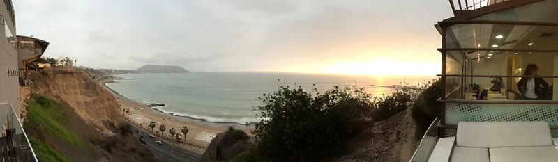Sunset at Larcomar, Lima