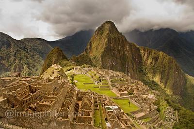 Machu Picchu and Wayne Picchu