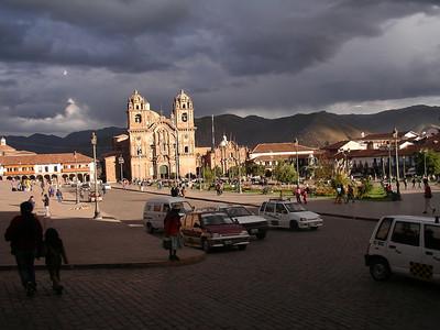 The Plaza de Armas, Cuzco.