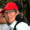 Peru 2012: Rio Madre de Dios - 0.11 Saddleback or Brown-mantled Tamarin (Callitrichidae: Saguinus fuscicollis)