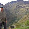 Inca Trail Day 3 - Karl at Runkurakay