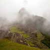 Inca Trail Day 4 - A fogbound Machu Picchu