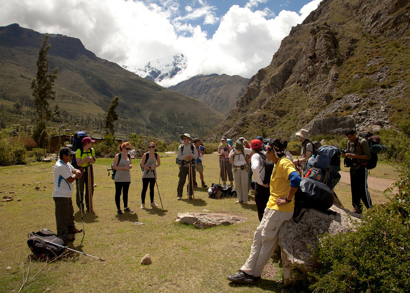 Inca Trail Day 1 - First rest stop