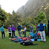 Inca Trail Day 2 - Getting an early start