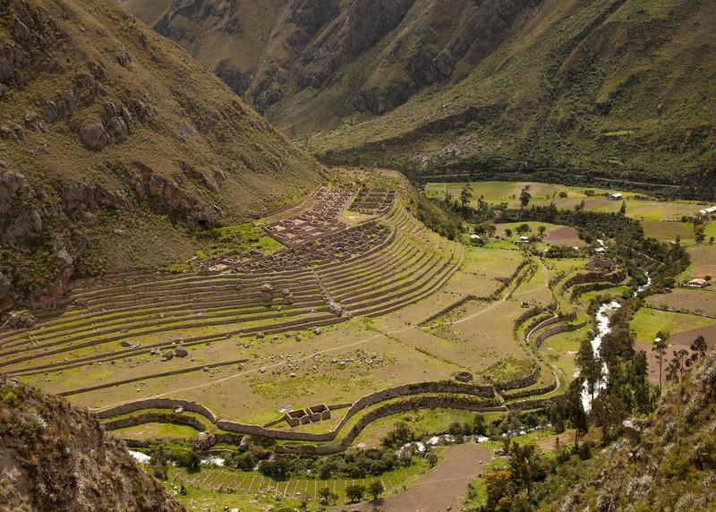 Inca Trail Day 1 - Patallacta (aka LLactapata)