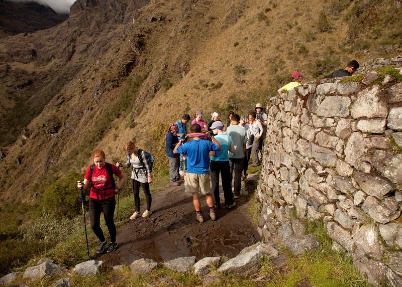 Inca Trail Day 3 - Runkurakay