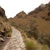 Inca Trail Day 2 - Approaching Dead Woman's Pass (Warmiwanusca)