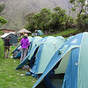 Inca Trail Day 1 - First camp at Wayllabamba