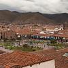 3790-91 Cusco skyline and Plaza de Armas