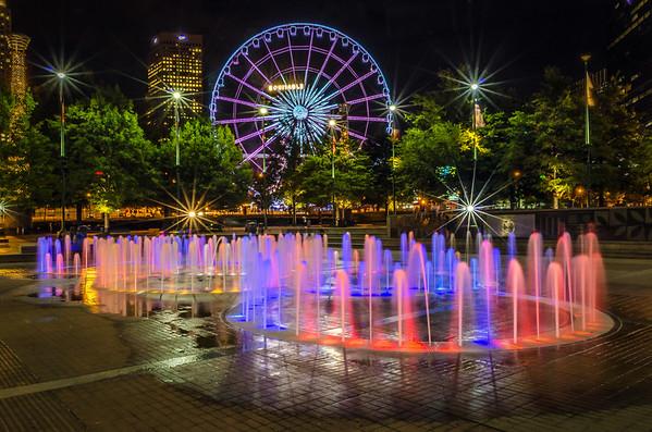 Centennial Park After Dark