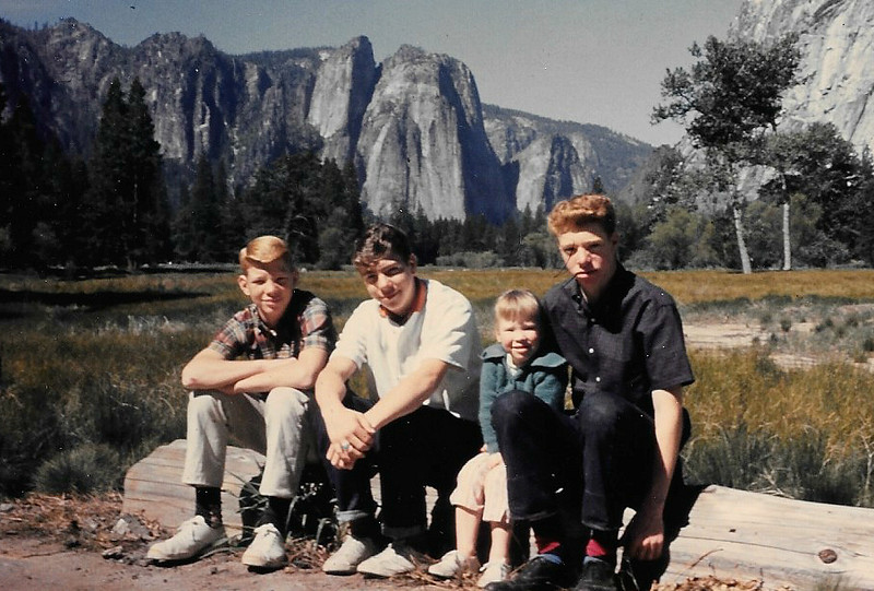 Yosemite, California (1962).