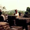 Borobudur, Java, Indonesia (1988).