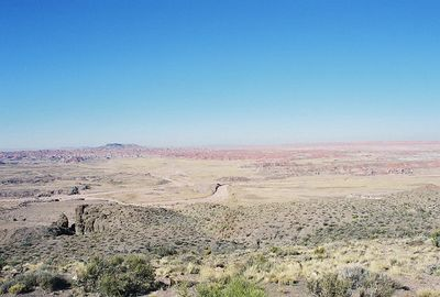 11/12/99 Painted Desert. Petrified Forest National Park, Navajo County, AZ