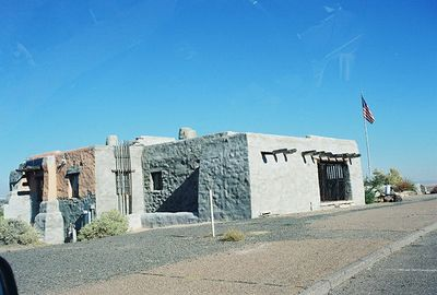 11/12/99 Painted Desert Inn (National Historic Landmark). Petrified Forest National Park, Navajo County, AZ