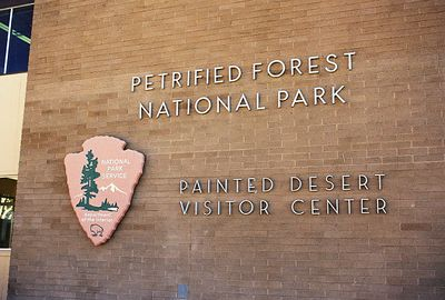 11/12/99 The Painted Desert Visitor Center. North Entrance Station to Petrified Forest National Park, Navajo County, AZ