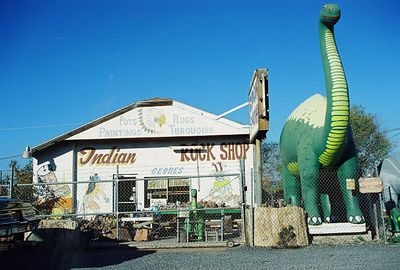 11/12/99 Hwy 180E enroute to South Entrance Station of Petrified Forest NP. Holbrook, Navajo County, AZ