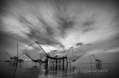 Phatthalung fishing village