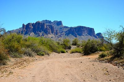 Desert Trail & Superstition Mountains.