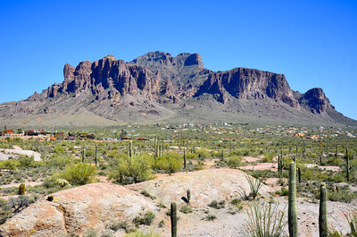 Superstition Mountains.