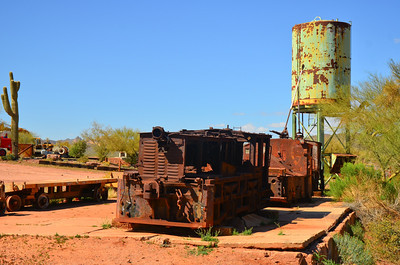 Goldfield Mine Ghost Town
