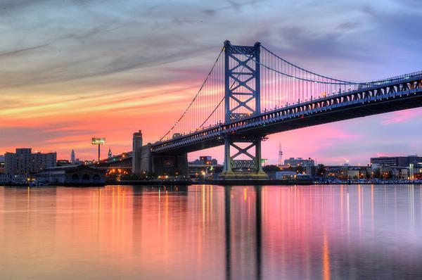 Benjamin Franklin Bridge, Philadelphia