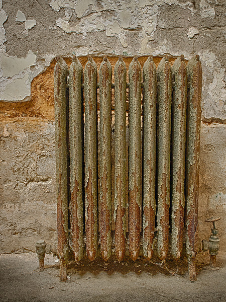 Radiators provided central heating.