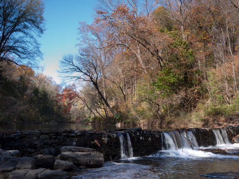 Old mill dam, near Valley Green