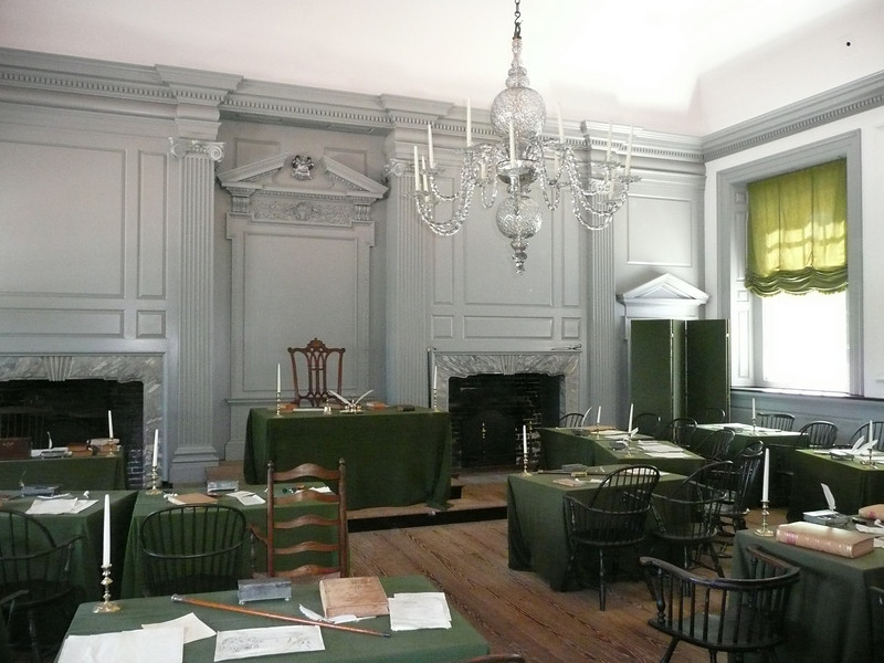 Where the Declaration of Independence and The Constitution were signed. It was used from 1790 to 1800 as the meeting place for the U.S. Congress.