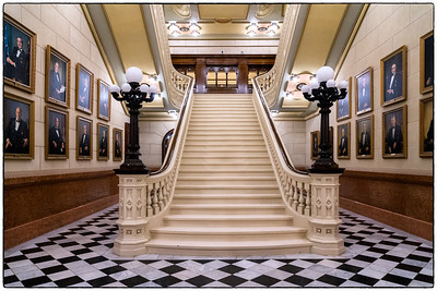 Grand Lodge - Central Staircase