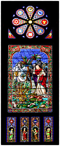 Grand Lodge - 2nd Floor Stained Glass Window