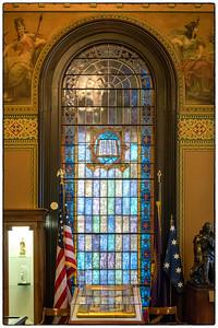 Grand Lodge - Museum Stain Glass Window