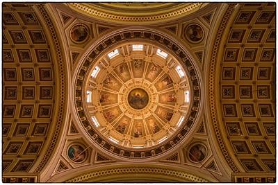 Basilica of Saints Peter & Paul - Ceiling Dome