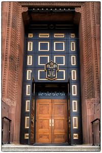 Basilica of Saints Peter & Paul  - Front Door