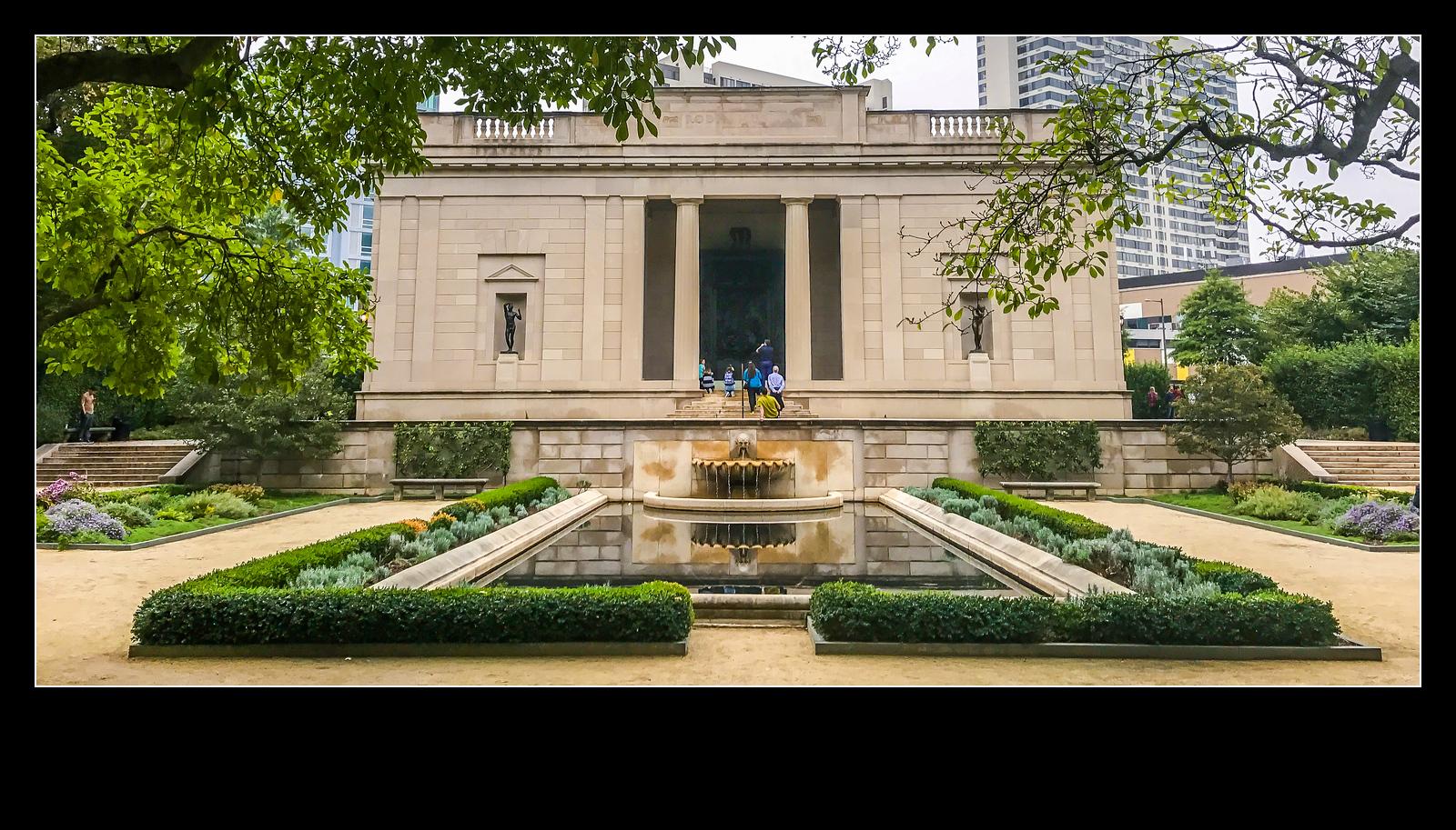 费城罗丹博物馆,值得一看(手机摄影)