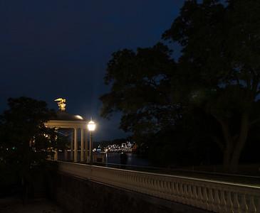 Philadelphia Waterworks at Night
